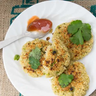 ready to eat spiced quinoa patties 1