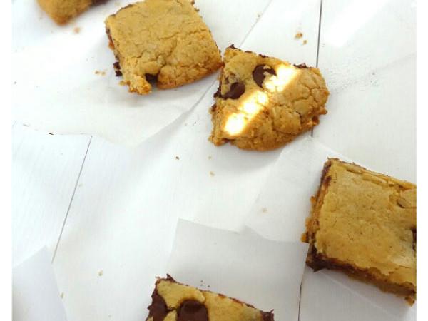 Delicious Brown Butter Blondie Cookies
