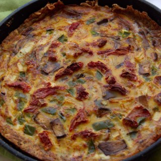 Hashbrown Crust Quiche