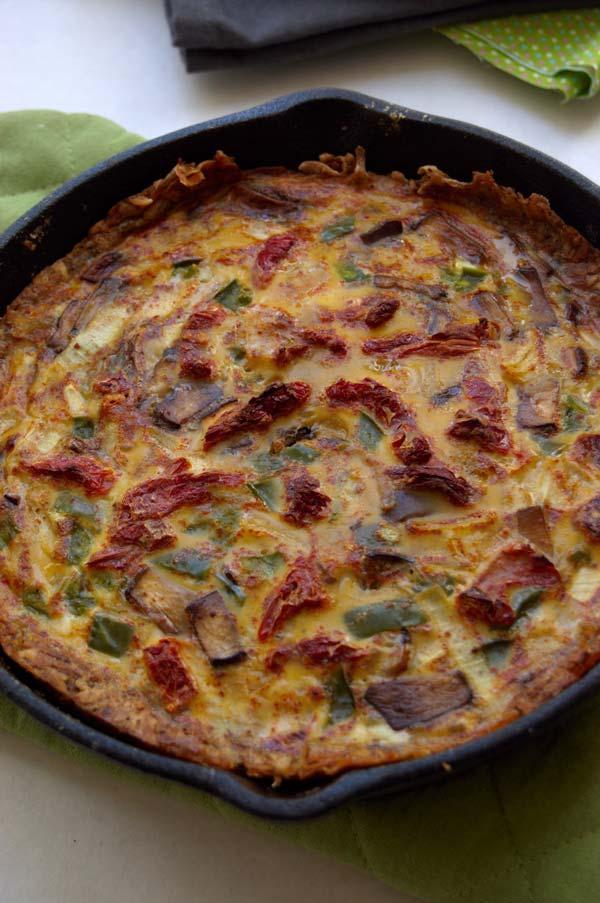 Hashbrown Crust Quiche