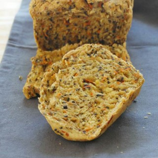 carrot sesame bread