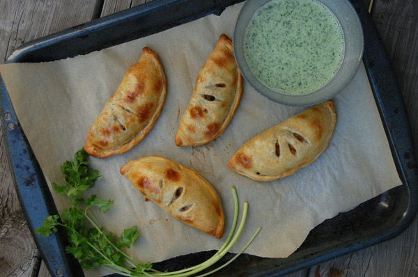 Black Bean Sweet Potato Empanadas
