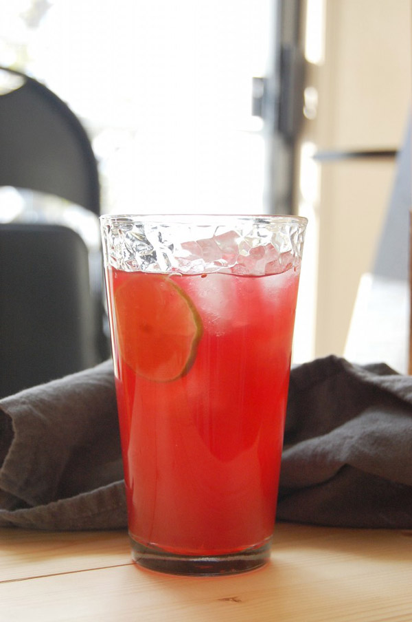 Cranberry GingerAle Cocktail