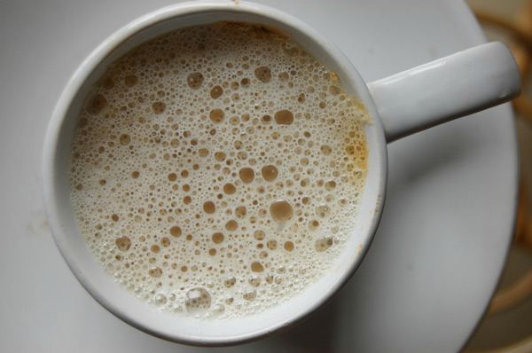 DIY Low Fat Homemade Cappuccino
