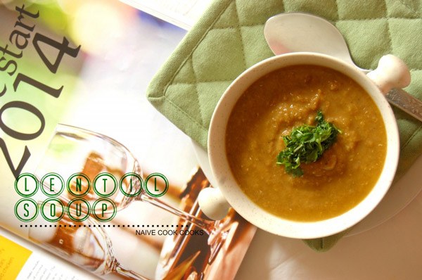 Healthy Brown Lentil Soup