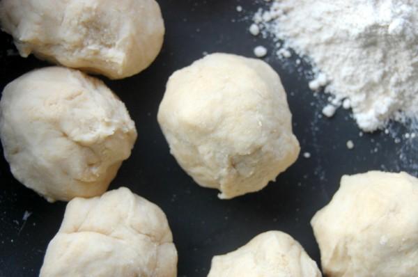 how to make flour tortillas Dough Balls