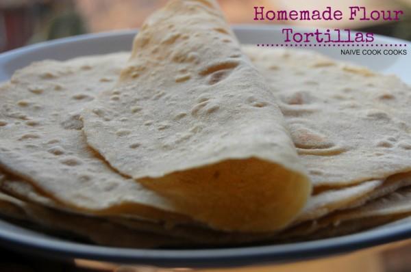 How to Make Flour Tortillas