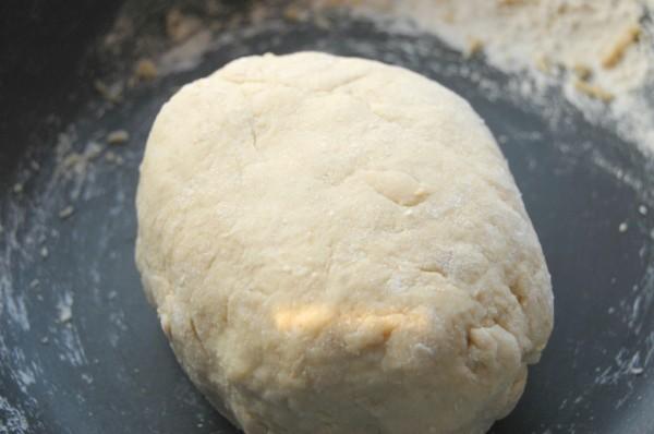 Dough for flour tortillas