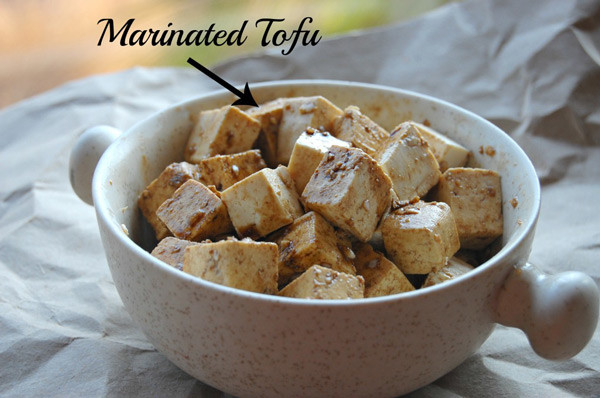 Marinated Tofu for Vegetarian Pad Thai