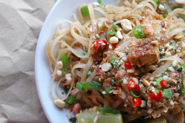 Yummy and delicious Ready to Eat Veggie Pad Thai
