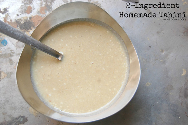 How to Make Tahini Sauce