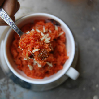 low fat gajar halwa