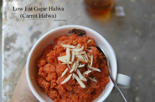 Healthy Gajar Halwa