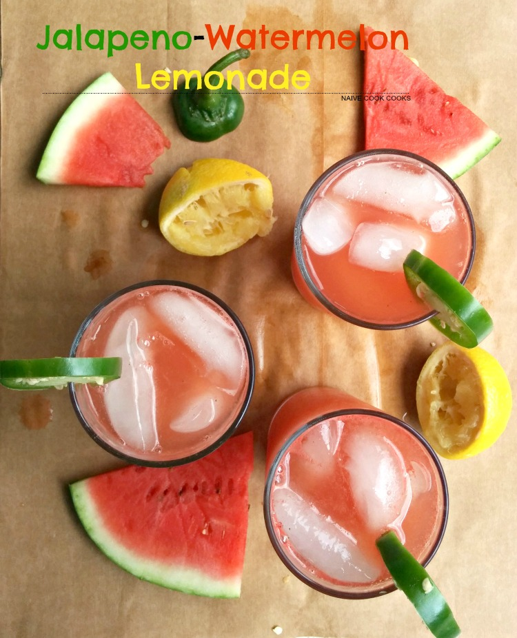 Jalapeno Watermelon Lemonade