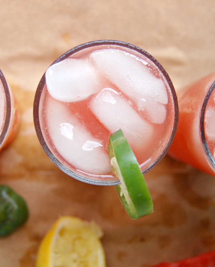 Jalapeno Watermelon Summer Lemonade