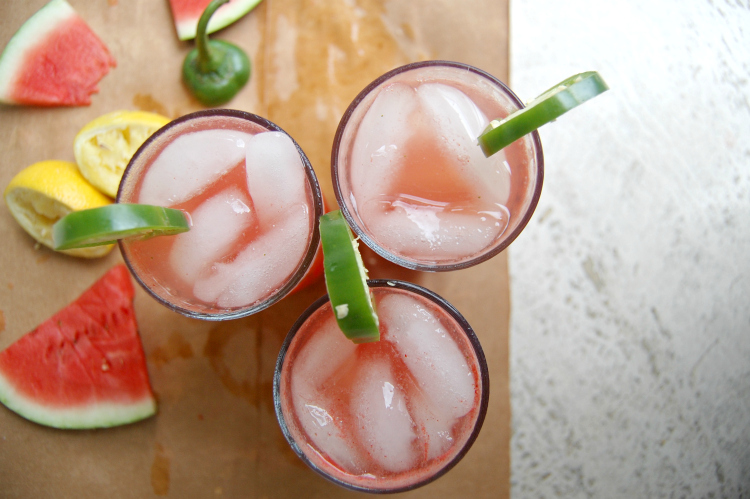 Watermelon Jalapeno Lemonade