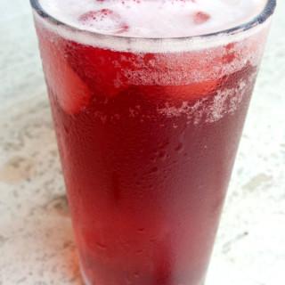Raspberry Hibiscus Cooler