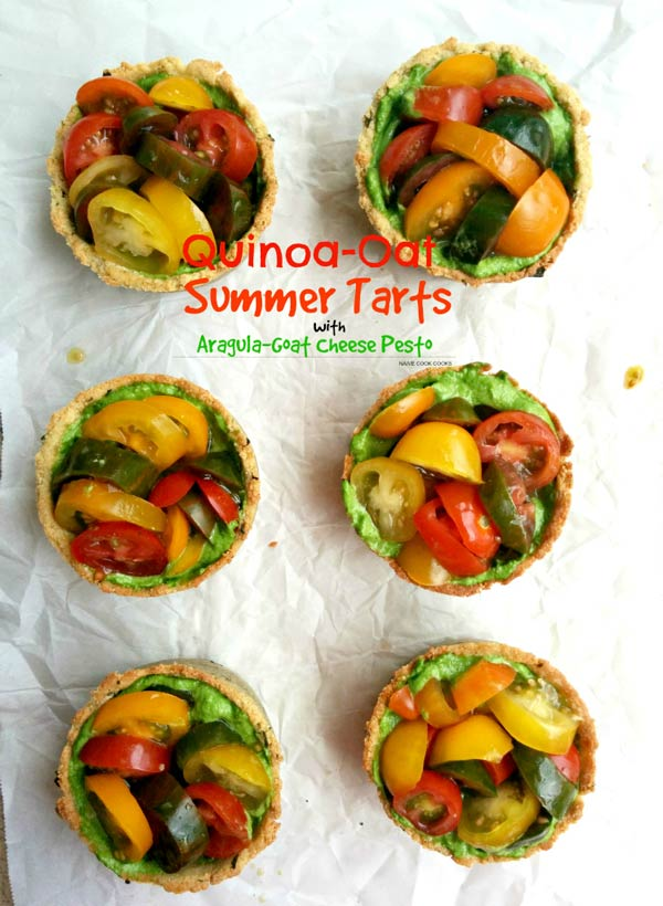 Quinoa Heirloom Tomato Tart