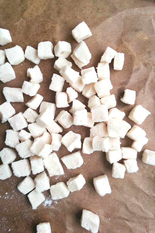 Marshmallows for Pineapple Marshmallow Blondies bar
