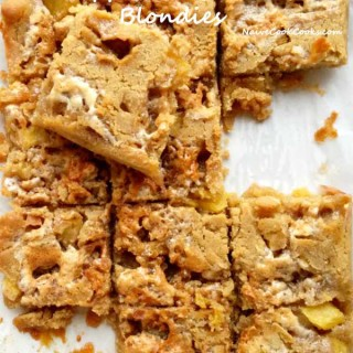 Pineapple Marshmallow Blondies