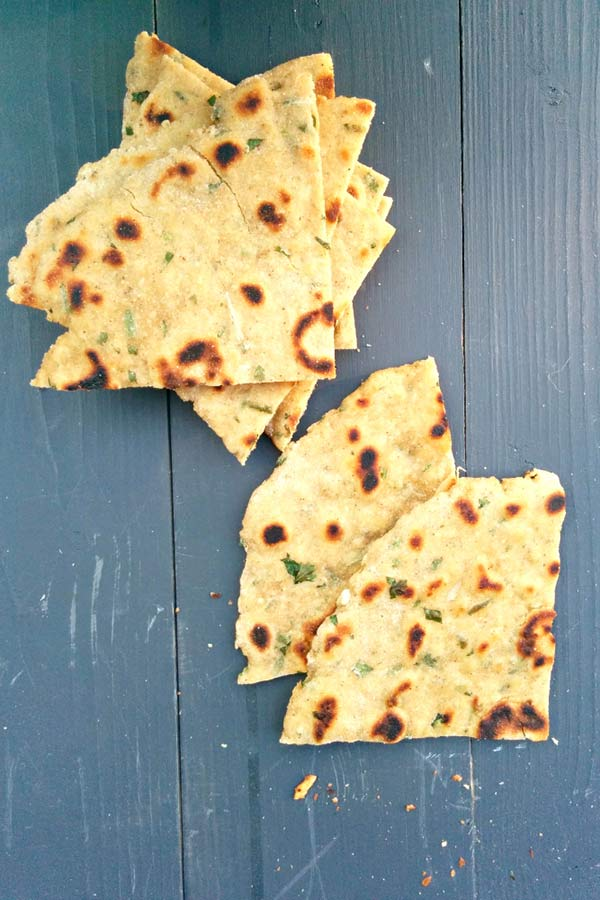 Amritsari Kulcha for Chola Chaat