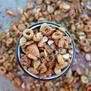 Pumpkin Seed Cheerios Granola