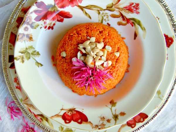 Boozy Carrot Halwa