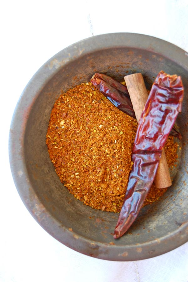 Grounded Spices for Chicken Malvani