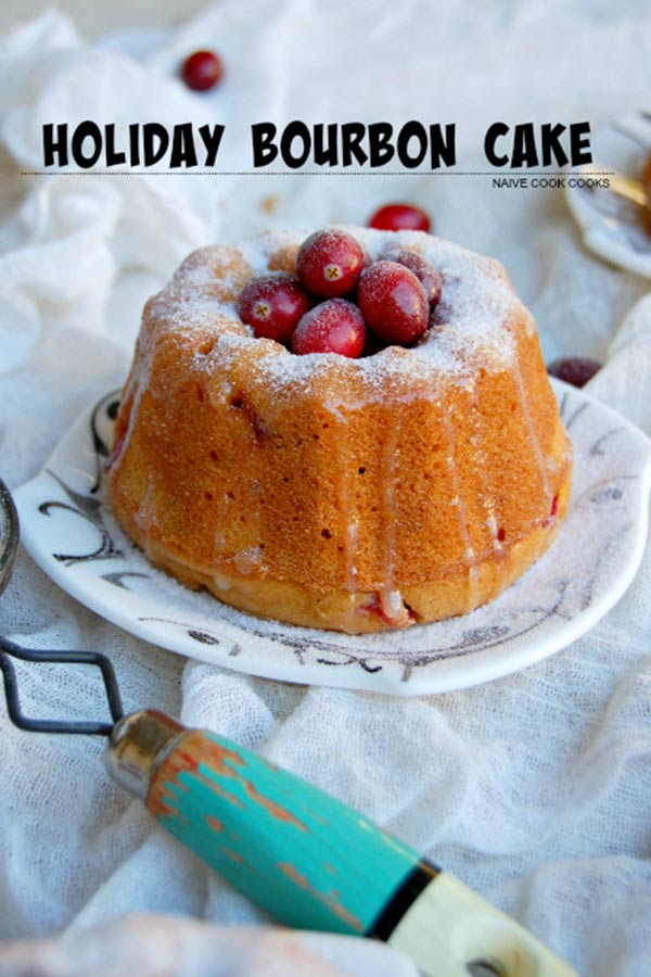 Holiday Bourbon Cake