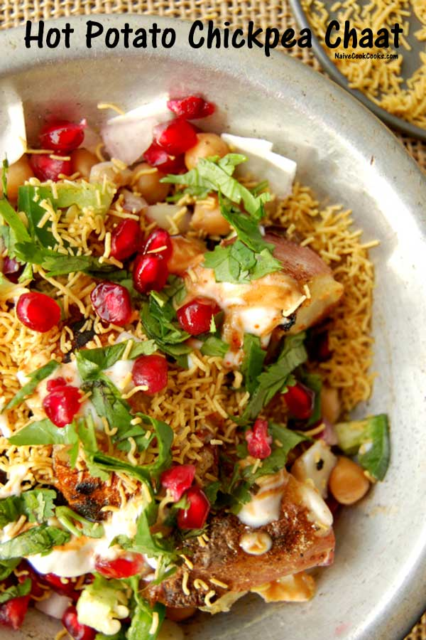 Hot Potato Chickpea Chaat