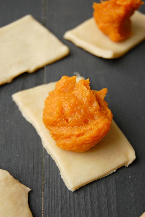 Sweet Potato Filling for Pop Tart Bites
