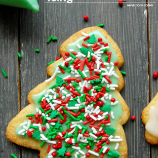 From Scratch Sugar Cookies With Easy Icing