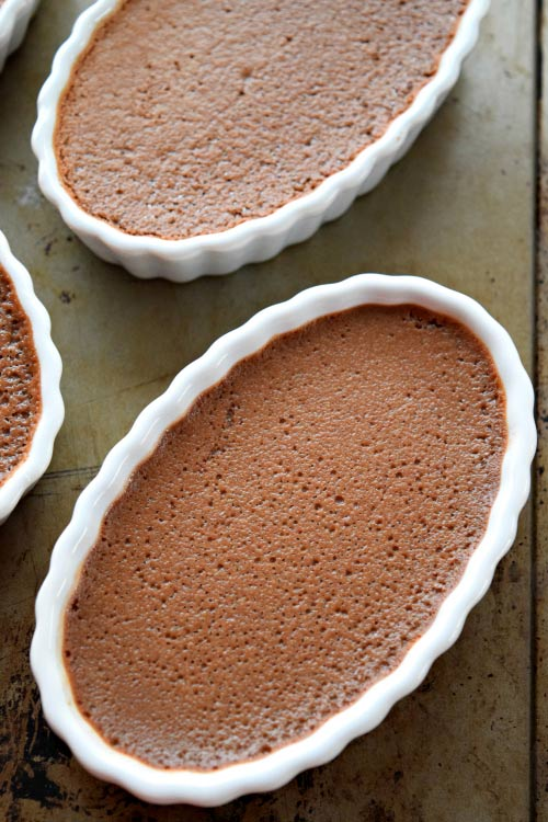 5 Ingredient Chocolate Creme Brulee Out of the Oven 1