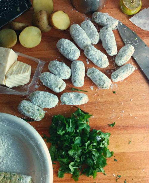 Cheese Koftas (Cheese Dumplings) for Malai Kofta