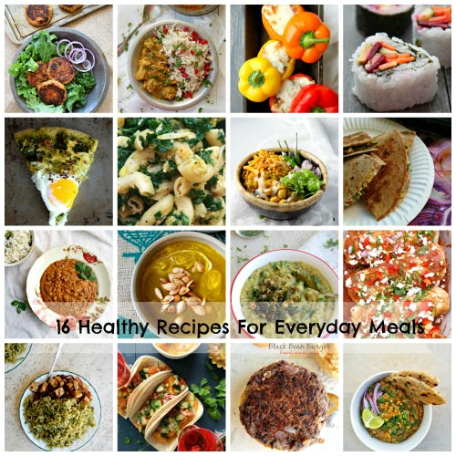 16 Healthy Recipes for Everday Meals