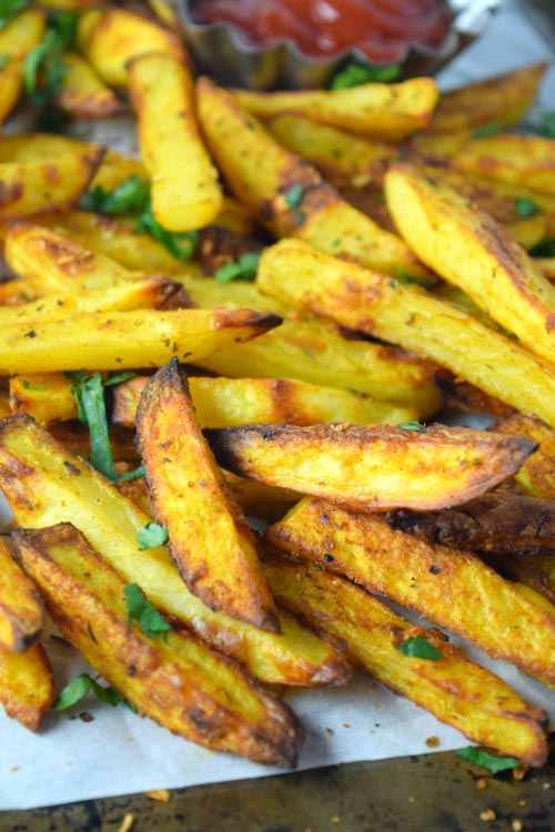 How to Make Oven Baked Crispy Cajun Fries Out of Oven