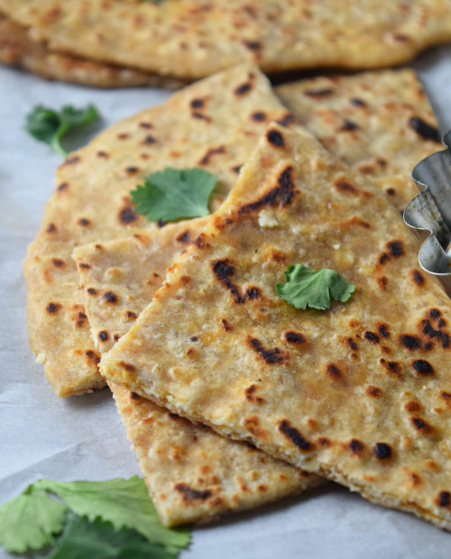 Ready to Serve Paneer Parantha (Indian Cheese Stuffed Flatbread)
