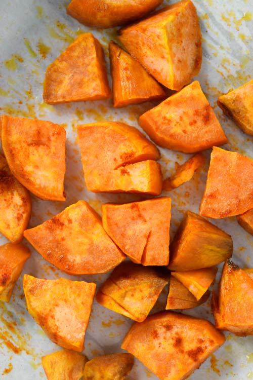 Roasted Sweet Potato Quesadilla