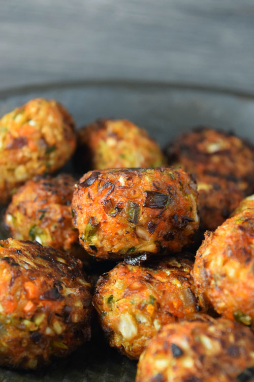 Vegetable Manchurian Balls Just Fried