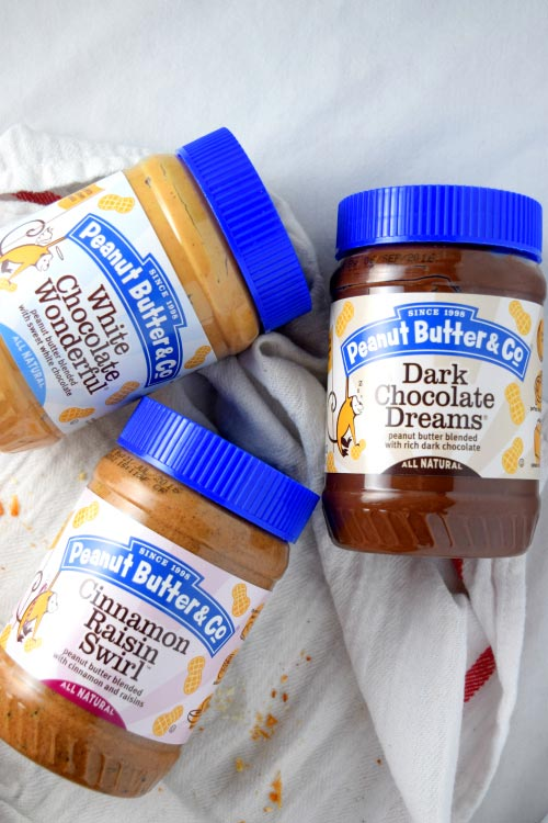 Peanut Butter for Chocolate Peanut Butter French Toast