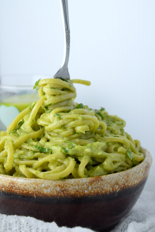 Ready to Eat Spicy Avocado Sauce Pasta