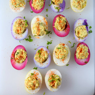 Tex Mex Deviled Eggs