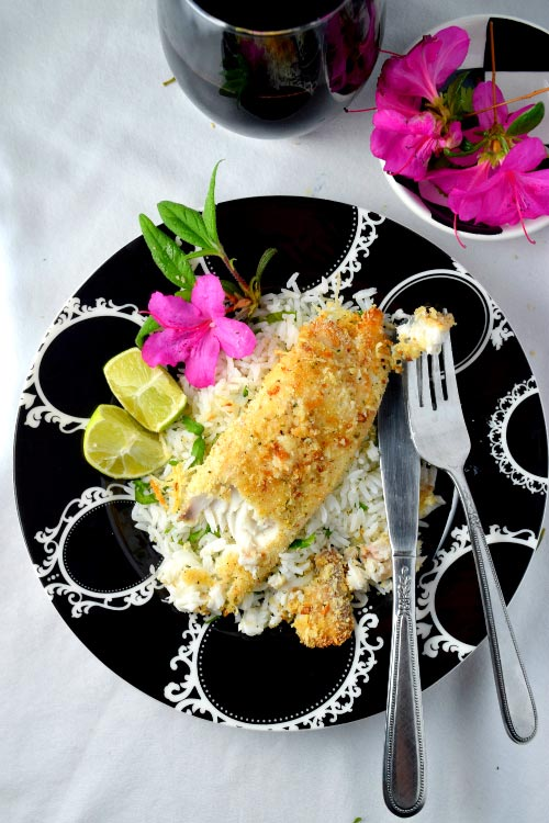 Baked Parmesan Crusted Tilapia Under 30 Mins Ready to Eat