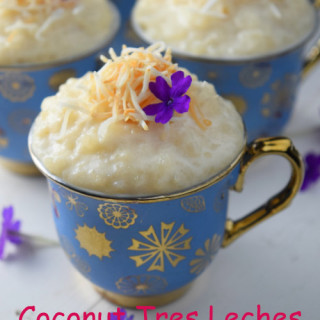 Coconut Tres Leches Rice Pudding