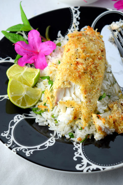 Flaky Baked Parmesan Crusted Tilapia