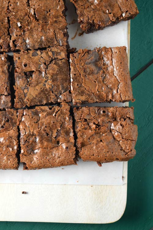 Super Rich Sinfully Fudgy Brownies Squares
