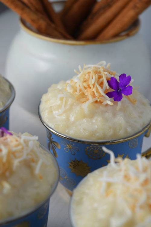 Yummy Coconut Tres Leches Rice Pudding