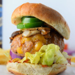 Cheese Stuffed Cajun Turkey Burgers
