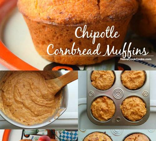 Chipotle Cornbread Muffins