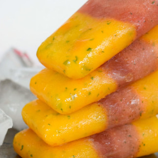 Mint Mango-Watermelon Pops